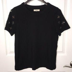 Madewell embellished top